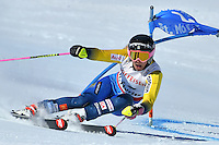 February 16, 2017: Frida HANSDOTTER (SWE) competing in the women's giant slalom event at the FIS Alpine World Ski Championships at St Moritz, Switzerland. Photo Sydney Low