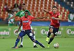 Independiente Medellín sacó ventaja en el juego de ida de los cuartos de final de la Copa Colombia tras derrotar 2 - 0 al Deportivo Cali en el estadio Atanasio Girardot.