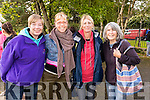 Anne O'Shea Rebecca Kemp, Jane Angilley and Dorothy Allard, at the 24 hour run in Tralee Town Park on Sunday last.
