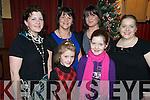QUIZ BUFFS: Mary Coffey, Siobhan O'Sullivan, Laura O'Sullivan, Martina Gilmartin, Ciara O'Sullivan and Sinead Coffey enjoying the Tom O'Sullivan memorial quiz in aid of Killorglin Hospice, in Kate Kearney's bar, Beaufort, on Sunday 27th December.