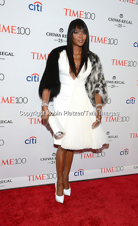 Naomi Campbell attends the TIME 100 Issue celebrating the 100 Most Influential People in the World on April 21, 2015 <br /> at Frederick P Rose Hall at Lincoln Center in New York City, New York, USA.<br /> <br /> photo by Robin Platzer/Twin Images<br />  <br /> phone number 212-935-0770