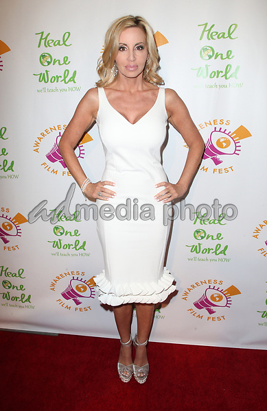 "05 October 2017 - Los Angeles, California - Camille Grammer. ""The Road To Yulin And Beyond"" Los Angeles Premiere. Photo Credit: F. Sadou/AdMedia"