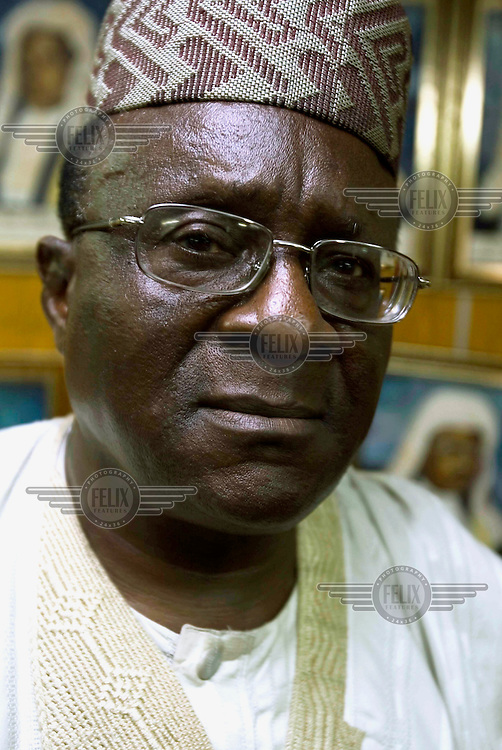 Chief Gani, a lawyer and human rights activist.