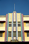Florida, Miami: Art Deco South Beach.  Photo #: flmiam104.  Photo copyright Lee Foster, 510/549-2202, lee@fostertravel.com, www.fostertravel.com