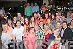 ENGAGEMENT: Helen Baily, Connolly Pk, Tralee, and TJ Cronin, Lixnaw, (front centre) who celebrated their engagement in Kirby's Brogue, Tralee last Saturday night with many friends and family.