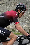 Geraint Thomas (WAL) Team Ineos climbs the Col d'Iseran during Stage 19 of the 2019 Tour de France originally running 126.5km from Saint-Jean-de-Maurienne to Tignes but cut short to 88.5 km, France. 26th July 2019.<br /> Picture: John Pierce/PhotoSport Int | Cyclefile<br /> All photos usage must carry mandatory copyright credit (© Cyclefile | John Pierce/PhotoSport Int)