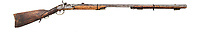 BNPS.co.uk (01202 558833)<br /> Pic: HeritageAuctions/BNPS<br /> <br /> Calamity Jane's 'Kentucky Rifle'<br /> <br /> A trio of guns that were owned by two of the Wild West's best known personalities have sold at auction for a whopping £305,000.<br /> <br /> The weapons, which were sold as individual lots, belonged to Calamity Jane and Wyatt Earp.<br /> <br /> Calamity Jane, real name Martha Jane Canary, is best known for appearing in Buffalo Bill's Wild West show and being an acquaintance of Wild Bill Hickok.<br /> <br /> Wyatt Earp meanwhile was an Old West lawman and professional gambler who took part in the infamous shootout at the O.K. Corral in 1881.