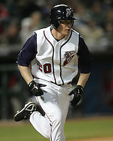Round Rock Express  OF Josh Anderson during the 2007 Pacific Coast League Season. Photo by Andrew Woolley/ Four Seam Images.