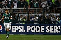 ATENÇÃO EDITOR: FOTO EMBARGADA PARA VEÍCULOS INTERNACIONAIS - SÃO PAULO,SP,02 SETEMBRO 2012 - CAMPEONATO BRASILEIRO - PALMEIRAS x SPORT -Correa  jogador do Palmeiras comemora gol  durante partida Palmeiras x Sport  válido pela 22º rodada do Campeonato Brasileiro no Estádio Paulo Machado de Carvalho (Pacaembu), na região oeste da capital paulista na noite desta quinta feira  (06).(FOTO: ALE VIANNA -BRAZIL PHOTO PRESS).