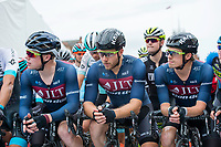Picture by Allan McKenzie/SWpix.com - 14/07/17 - Cycling - HSBC UK British Cycling National Circuit Series - Velo29 Altura Criterium - Stockton, England - JLT Condor's Matt Gibson, Brenton Jones & Tom Moses.