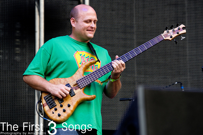 Kevin Rosen of Dark Star Orchestra performs during the All Good Music Festival at Legend Valley in Thornville, Ohio.