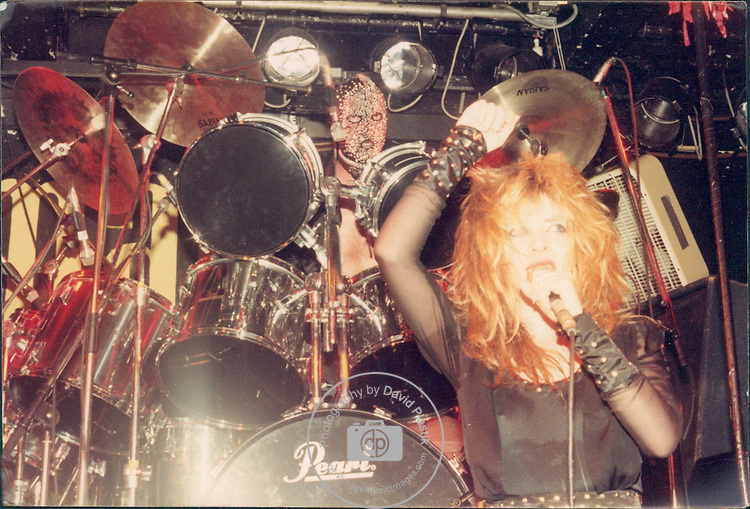 Thunderstick live at The Marquee in London England 1982 Vinny Stapley, , Barry Graham Purkis, Thunderstick