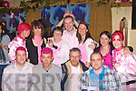 Enjoying the Irish Breast Cancer Society fundraiser in Ulicks bar Firies on Friday front row: Alan Corr, Rory Browne, Peter O'Sullivan, Denis Griffin. Back row: Tara O'Donoghue, Mary O'Carroll, Noreen O'Connor, Frances Jones, Jennifer Williams, Marie O'Connor and Sheila O'Connor