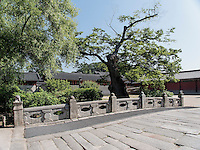 Br&uuml;cke im Changdeokgung Palast, Seoul, S&uuml;dkorea, Asien, UNESCO-Weltkulturerbe<br /> bridge inside palace Changdeokgung,  Seoul, South Korea, Asia UNESCO world-heritage
