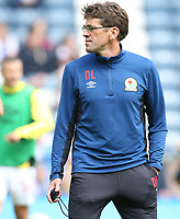 Blackburn Rovers' First Team Coach David Lowe<br /> <br /> Photographer Stephen White/CameraSport<br /> <br /> The EFL Sky Bet League One - Blackburn Rovers v Doncaster Rovers - Saturday August 12th 2017 - Ewood Park - Blackburn<br /> <br /> World Copyright &copy; 2017 CameraSport. All rights reserved. 43 Linden Ave. Countesthorpe. Leicester. England. LE8 5PG - Tel: +44 (0) 116 277 4147 - admin@camerasport.com - www.camerasport.com