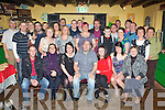 Robert O'Neill Ballyfinnane seated centre that celebrated his 40th birthday with his family and friends in the Shanty bar, Ballyfinnane on Saturday night
