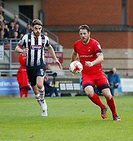 Leyton Orient's Tom Parkes chases the ball during the Sky Bet League 2 match between Leyton Orient and Grimsby Town at the Matchroom Stadium, London, England on 11 March 2017. Photo by Carlton Myrie / PRiME Media Images.