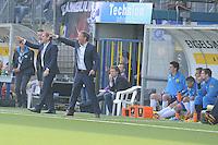 VOETBAL: LEEUWARDEN: 30-03-2014, Cambuurstadion, SC CAMBUUR - AZ, uitslag 0-0, Dwight Lodeweges, Henk de Jong, ©foto Martin de Jong