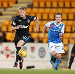 Ross McCrorie steps away from Stefan Scougall