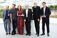 "22 May 2017 - Cannes, France - Toby Jones, Mathieu Kassovitz, Fantine Harduin, Isabelle Huppert. ""Happy End"" Photocall - 70th Annual Cannes Film Festival held at Palais des Festivals. Photo Credit: Jan Sauerwein/face to face/AdMedia"