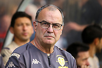 Leeds United manager Marcelo Bielsa takes his seat before the match<br /> <br /> Photographer Alex Dodd/CameraSport<br /> <br /> Football Pre-Season Friendly - York City v Leeds United - Wednesday 10th July 2019 - Bootham Crescent - York<br /> <br /> World Copyright © 2019 CameraSport. All rights reserved. 43 Linden Ave. Countesthorpe. Leicester. England. LE8 5PG - Tel: +44 (0) 116 277 4147 - admin@camerasport.com - www.camerasport.com