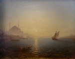 ActiveMuseum_0000060.jpg / Constantinople, Hagia Sophia at sunrise - Felix Ziem - <br />