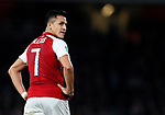 Arsenal's Alexis Sanchez looks on dejected during the Carabao cup match at the Emirates Stadium, London. Picture date 20th September 2017. Picture credit should read: David Klein/Sportimage