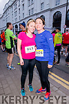 Trisha McCarthy and Karen Leane at the Good Friday 5 miles run in Killarney last Friday.