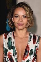 Carmen Ejogo at the 2017 EE British Academy Film Awards (BAFTA) After-Party held at the Grosvenor House Hotel, London, UK. <br /> 12 February  2017<br /> Picture: Steve Vas/Featureflash/SilverHub 0208 004 5359 sales@silverhubmedia.com