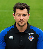 Ryan Davis of Bath Rugby poses for a portrait. Bath Rugby Media Day on August 14, 2018 at Farleigh House in Bath, England. Photo by: Patrick Khachfe / Onside Images