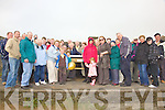 Family and friends of the late Florry McDonnell from Clogherbrien gathered in Fenit on Sunday for the dedication of a new bench in his memory erected by his fellow members of The Tralee Bay Swimming Club................................................................................................................................................................................................................................................................... ............