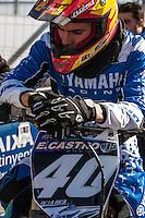 E. Castro at Spanish Motocross Championship at Albaida circuit (Spain), 22-23 February 2014