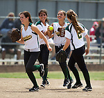 Capuchino at Santa Catalina in the CCS Division III Final softball game at PAL stadium in San Jose, May 28, 2011.  Capuchino wins 5-4.