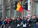 le Roi Philippe de Belgique à rendu hommage au Monument du Soldat Inconnu à Bruxelles lors des commémorations de ce 11 novembre, jour de l'armistice. Après avoir déposé une gerbe de fleurs, le roi a également rencontré les associations d'anciens combattants