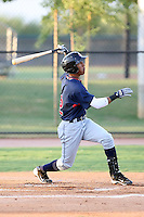 Robel Garcia - AZL Indians - 2010 Arizona League.Photo by:  Bill Mitchell/Four Seam Images..