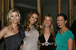 All My Children's Stephanie Gatschet & Chrishell Stause & Marcia Tovsky & Melissa Claire Egan at Marcia Tovsky's Holiday/Bon Voyage Party for AMC on December 1, 2009 at Nikki Midtown, New York City, New York. (Photo by Sue Coflin/Max Photos)