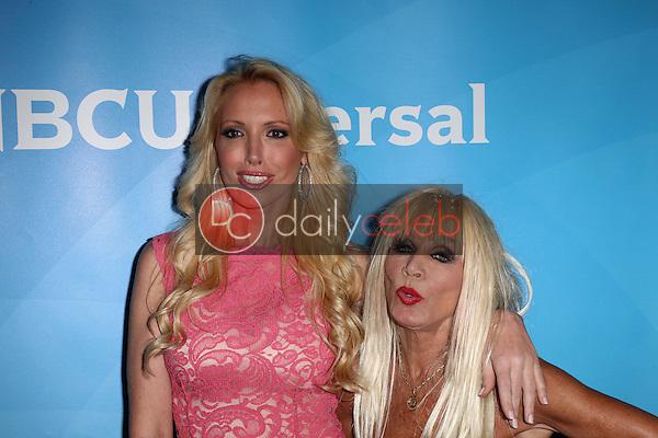 Lulu Johnson and Betsey Johnson<br /> at the 2013 NBC Universal Summer Press Day , Langham Huntington Hotel, Pasadena, CA 04-22-13<br /> David Edwards/Dailyceleb.com 818-249-4998