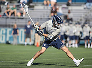 Washington, DC - February 27, 2018: Georgetown Hoyas Craig Berge (11) attempts a shot during game between Mount St. Mary's and Georgetown at  Cooper Field in Washington, DC.   (Photo by Elliott Brown/Media Images International)
