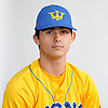 Jake Guercio of West Islip poses for a portrait during Newsday's varsity baseball season preview photo shoot at company headquarters in Melville on Friday, March 23, 2018.