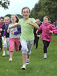 Courtney Boyle running in the under 8 race at Moneymore sports day. Photo: www.pressphotos.ie