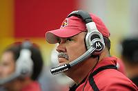 Sept. 13, 2009; Glendale, AZ, USA; Arizona Cardinals assistant head coach Russ Grimm against the San Francisco 49ers at University of Phoenix Stadium. San Francisco defeated Arizona 20-16. Mandatory Credit: Mark J. Rebilas-
