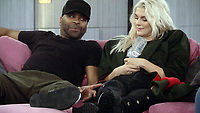 Ashley James, Ginuwine<br /> Celebrity Big Brother 2018 - Day 7<br /> *Editorial Use Only*<br /> CAP/KFS<br /> Image supplied by Capital Pictures