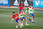 Spain's Pedro Rodriguez, Nacho Monreal, Isco Alarcon and Alvaro Morata during training session. March 20,2017.(ALTERPHOTOS/Acero)
