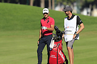Joakim Lagergren (SWE) at the 7th green during Saturday's Round 3 of the 2018 Turkish Airlines Open hosted by Regnum Carya Golf &amp; Spa Resort, Antalya, Turkey. 3rd November 2018.<br /> Picture: Eoin Clarke | Golffile<br /> <br /> <br /> All photos usage must carry mandatory copyright credit (&copy; Golffile | Eoin Clarke)