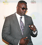 NFL Player Jarvis Green Wearing One of His Superbowl Rings Attends Greenhouse Presents The 1st Annual Welcome To The League Party During NFL Draft Week hosted by Pro-bowler Jason Babin and 2 Time Superbowl Champ Jarvis Green  at Greenhouse, NY 4/28/11