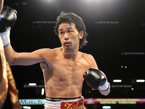 Shinsuke Yamanaka (JPN),.NOVEMBER 3, 2012 - Boxing :.Shinsuke Yamanaka of Japan during the WBC bantamweight title bout at Xebio Arena Sendai in Miyagi, Japan. (Photo by Mikio Nakai/AFLO)
