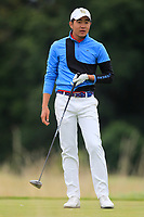 Kosuke Hamamoto of Team Thailand on the 8th tee during Round 3 of the WATC 2018 - Eisenhower Trophy at Carton House, Maynooth, Co. Kildare on Friday 7th September 2018.<br /> Picture:  Thos Caffrey / www.golffile.ie<br /> <br /> All photo usage must carry mandatory copyright credit (&copy; Golffile | Thos Caffrey)