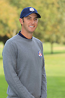 Dustin Johnson (USA) at the USA Team photo shoot during Monday's Practice Day of the 39th Ryder Cup at Medinah Country Club, Chicago, Illinois 25th September 2012 (Photo Eoin Clarke/www.golffile.ie)