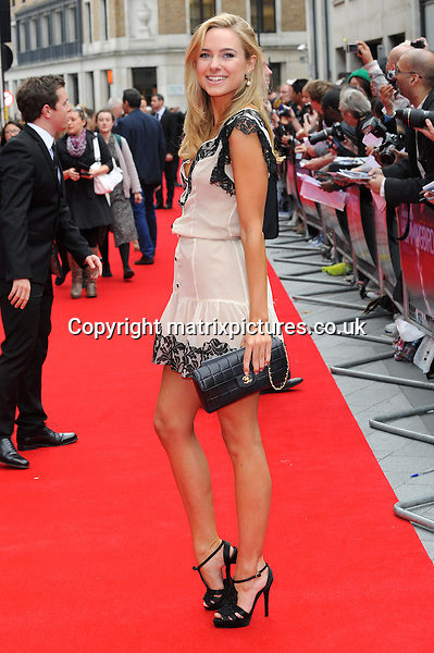 NON EXCLUSIVE PICTURE: PAUL TREADWAY / MATRIXPICTURES.CO.UK<br /> PLEASE CREDIT ALL USES<br /> <br /> WORLD RIGHTS<br /> <br /> &quot;Made In Chelsea&quot; reality TV star Kimberley Garner attending the UK premiere of Hummingbird at London's Odeon West End.<br /> <br /> 17th JUNE 2013<br /> <br /> REF: PTY 134125