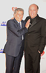 LOS ANGELES, CA. - January 29: Tony Bennett (L) and son Danny Bennett arrive at the 2010 MusiCares Person Of The Year Tribute To Neil Young at the Los Angeles Convention Center on January 29, 2010 in Los Angeles, California.